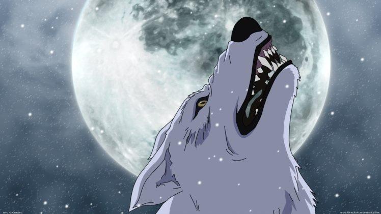 wolf, Manga HD Wallpaper Desktop Background