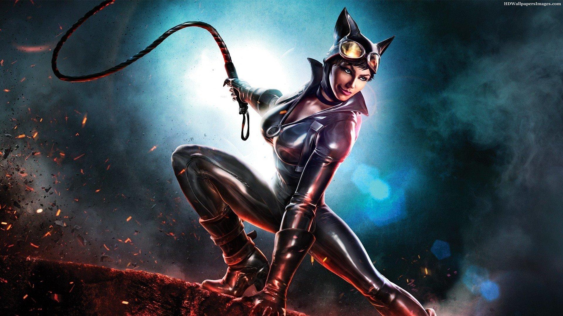 Infinite Crisis, Catwoman, Video games Wallpaper