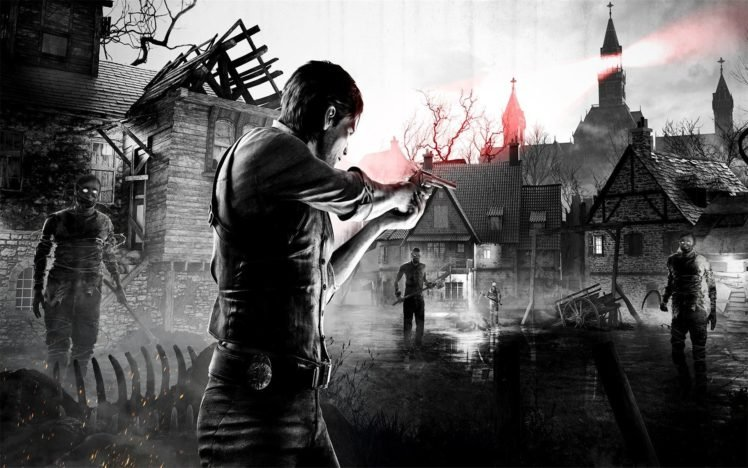 The Evil Within, Video games, Selective coloring HD Wallpaper Desktop Background