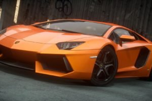 Lamborghini, Lamborghini Aventador, Need for Speed, Need for Speed: The Run, Video games