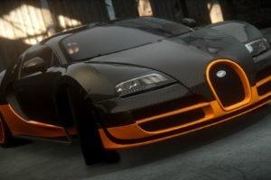 Bugatti Veyron, Bugatti, Bugatti Veyron Super Sport, Need for Speed: The Run, Need for Speed, Video games