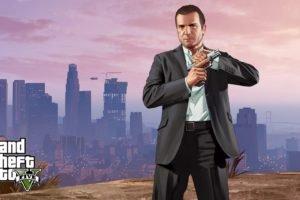 Grand Theft Auto, Grand Theft Auto V, Michael, Video games