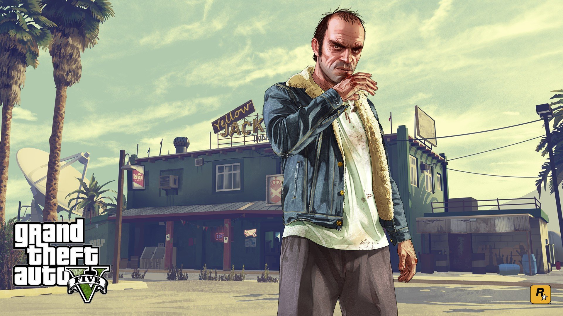 Trevor philips grand theft auto v grand theft auto - Gta v wallpaper ...