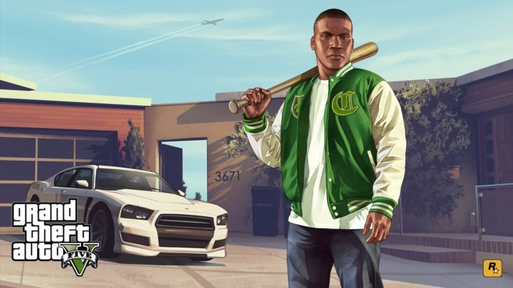 Franklin Clinton, Grand Theft Auto, Grand Theft Auto V, Video games HD Wallpaper Desktop Background