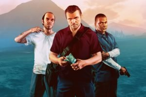 Trevor Philips, Franklin Clinton, Michael De Santa, Grand Theft Auto, Grand Theft Auto V, Video games