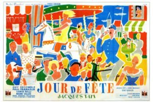 Jacques Tati, Film posters, Jour de fête