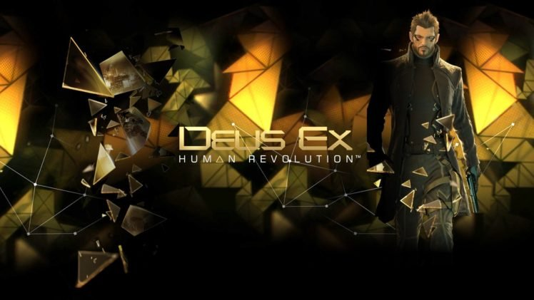 Deus Ex Human Revolution Video Games HD Wallpaper Desktop Background