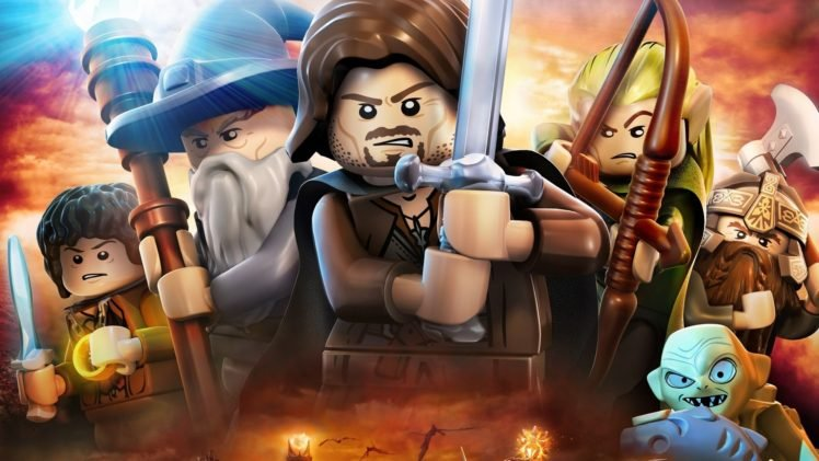 Lego The Lord Of The Rings Hd Wallpapers Desktop And