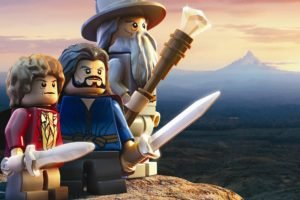 Gandalf, Bilbo Baggins, LEGO, The Hobbit