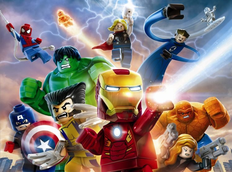 Lego Marvel Super Heroes Hd Wallpapers Desktop And Mobile Images