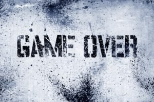 GAME OVER, Text