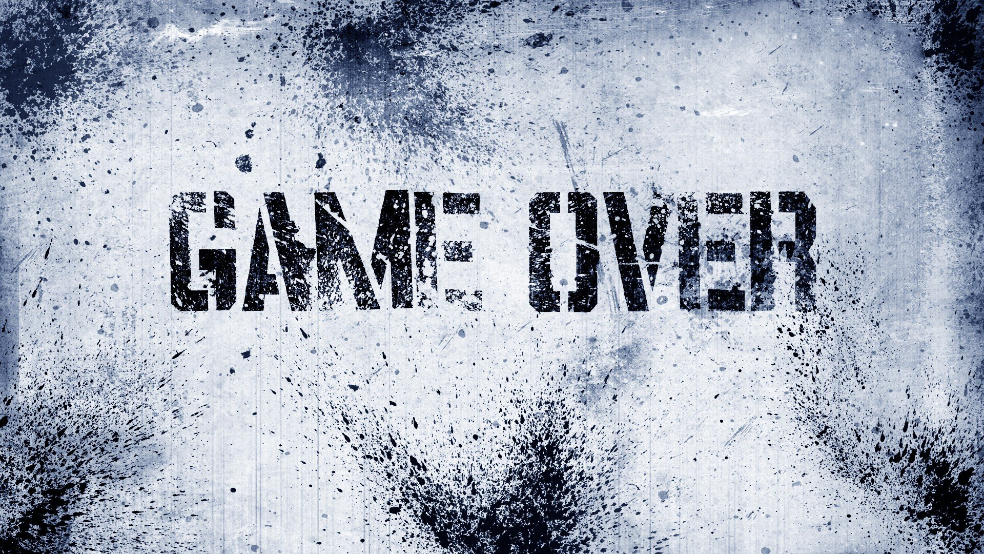 GAME OVER, Text HD Wallpapers / Desktop and Mobile Images ...