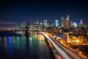 cityscape, Long exposure, New York City, City