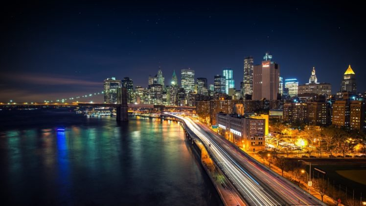 Cityscape long exposure new york city city hd wallpapers cityscape long exposure new york city city hd wallpaper desktop background voltagebd Image collections