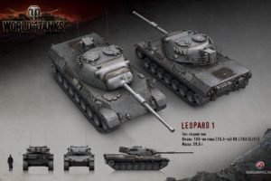 World of Tanks, Tank, Leopard 1