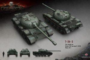 World of Tanks, Tank, T 34 3
