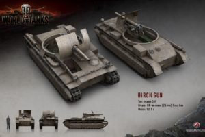 World of Tanks, Tank, Birch Gun