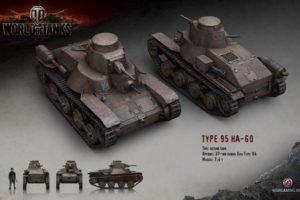 World of Tanks, Tank, HA GO, Video games