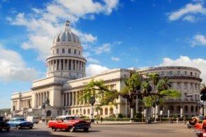 cityscape, Cuba, El Capitolio