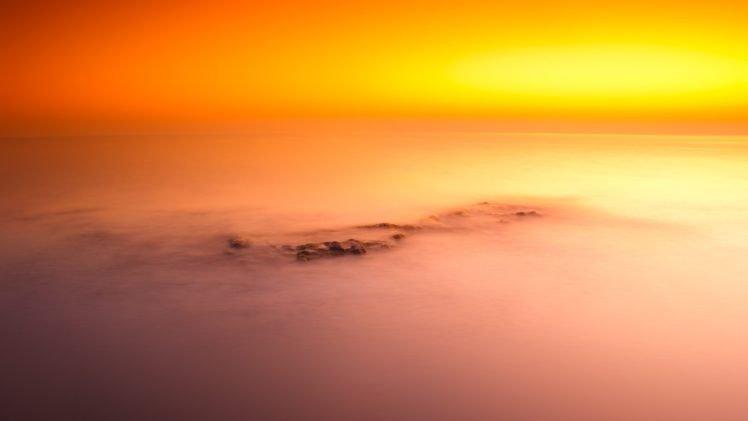 sunset, Clouds, Monsters, Inc., Ninja HD Wallpaper Desktop Background