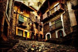 street, House, Old, Stones, Stone house