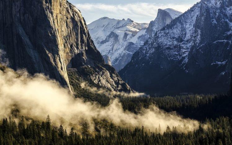 Yosemite National Park, Apple Inc., Mountains HD Wallpaper Desktop Background