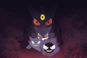 Gengar, Haunter, Pokémon, Gastly