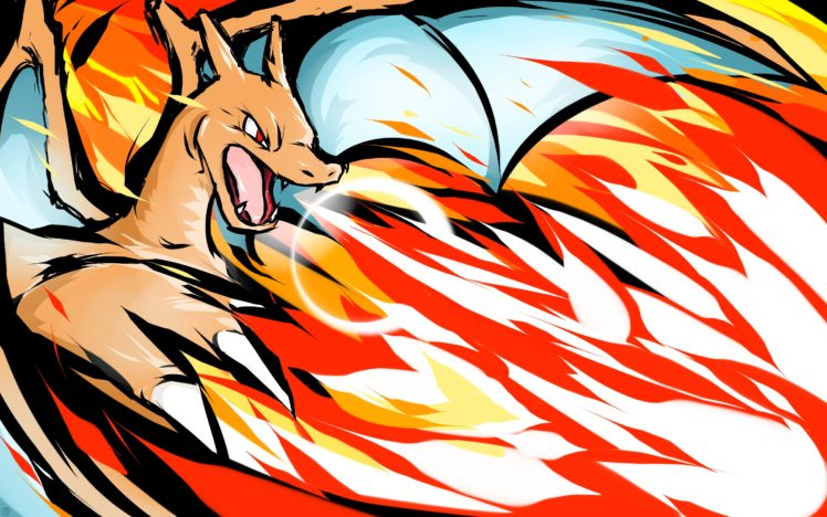 Charizard Pokemon HD Wallpaper Desktop Background