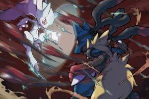 Mewtwo, Pokémon, Lucario
