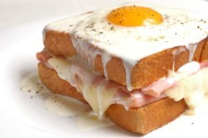 food, Bread, Fried egg, Cheese