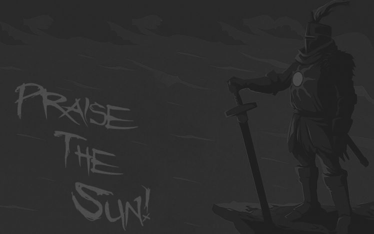 Dark Souls Solaire Gray Video Games Hd Wallpapers