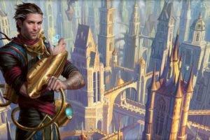 wizard, Magic: The Gathering, Magic, Dragon&039;s Maze, Town