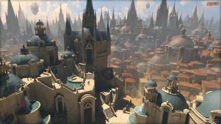 The Gathering, Magic, Azorius, Town HD