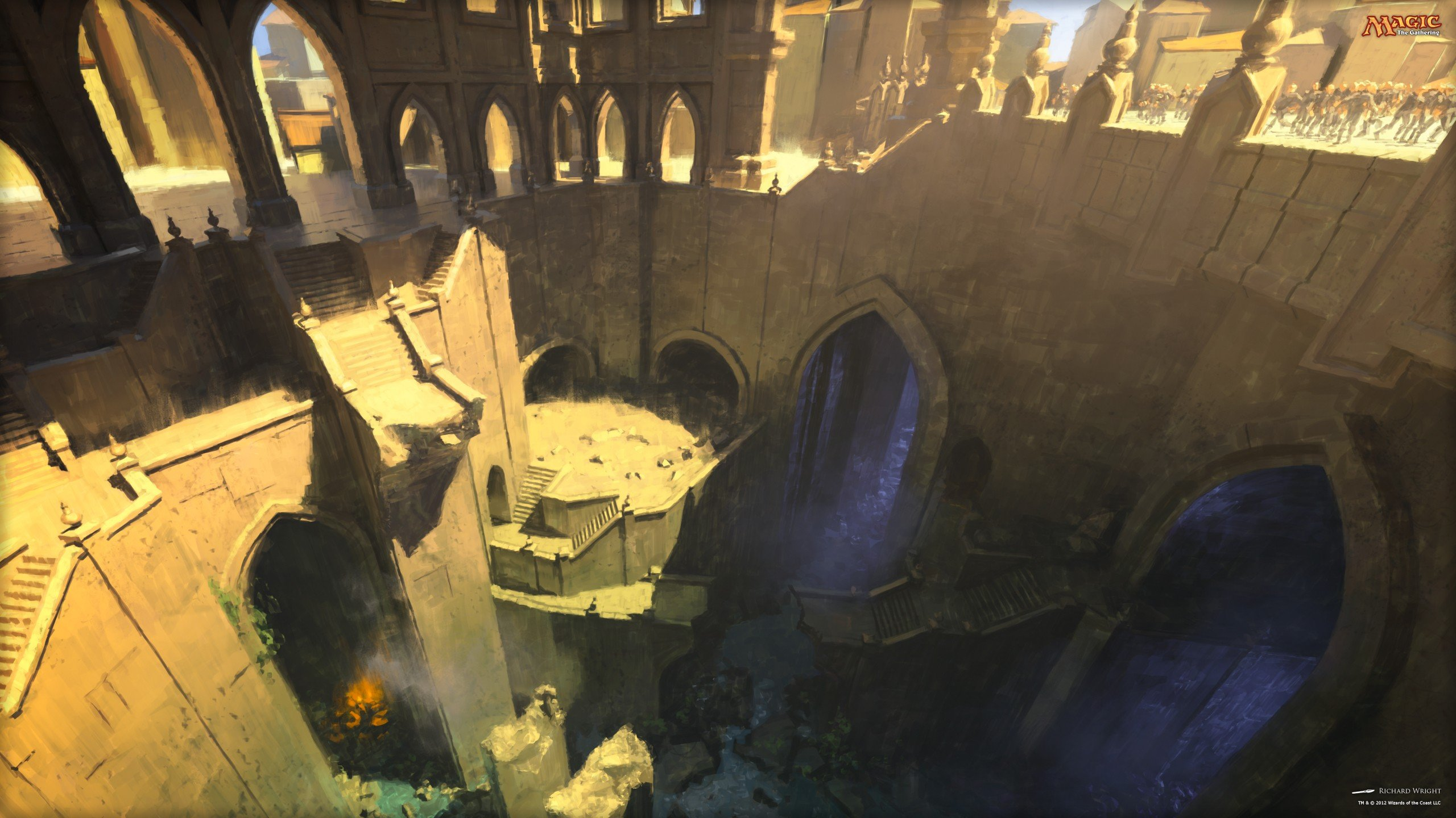 Magic The Gathering Magic Dimir Hd Wallpapers Desktop And