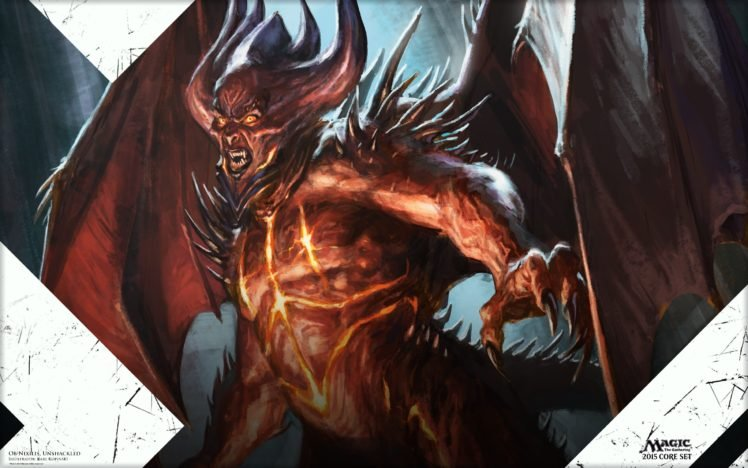 Magic: The Gathering, Magic, Devils, Demon HD Wallpaper Desktop Background