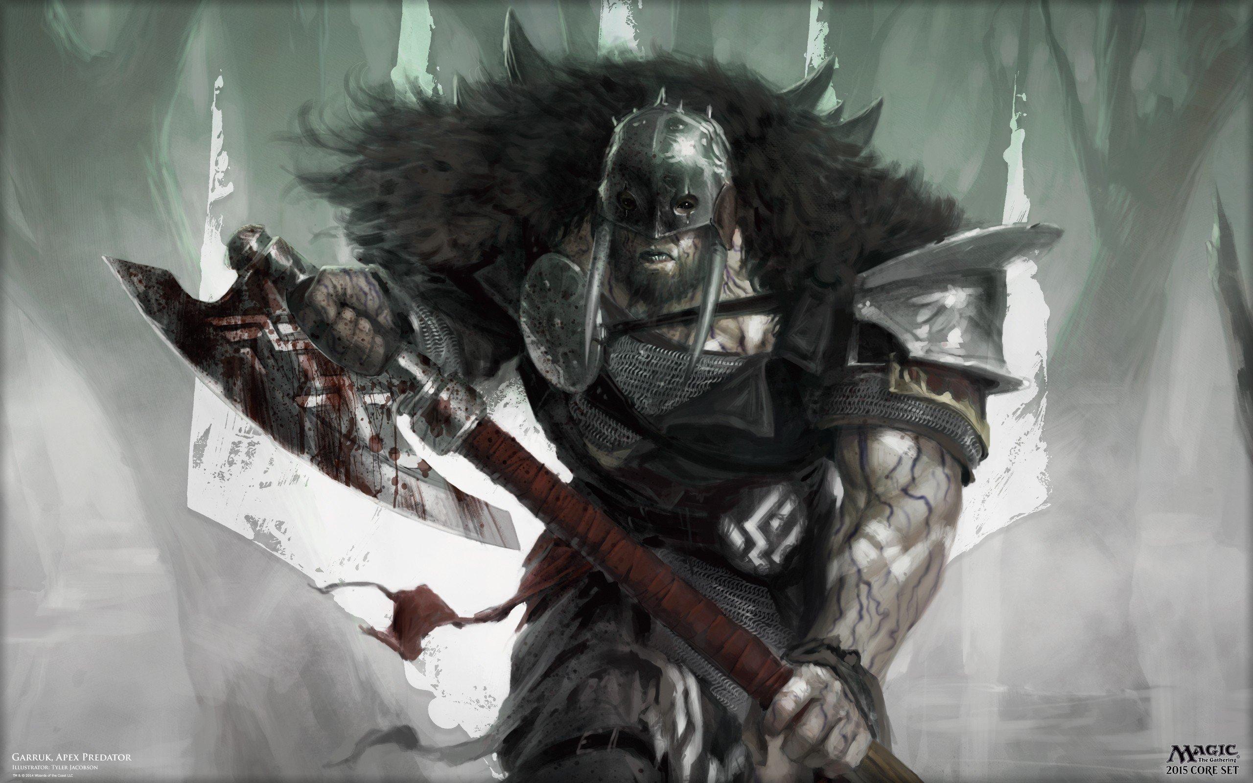Garruk Wildspeaker Druids Hunter Magic The Gathering Magic