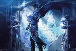 wizard, Magic: The Gathering, Magic, Planeswalkers, Jace Beleren