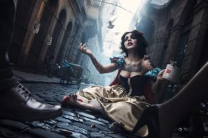women, Disney princesses, Snow White, Princess, Tattoo