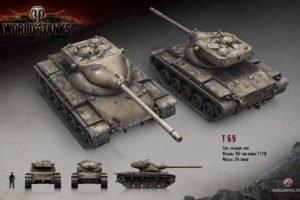 World of Tanks, Tank, Wargaming, T69, IS 3