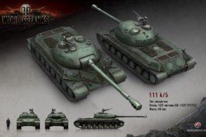 World of Tanks, Tank, Wargaming, 111 Tank
