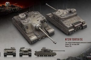 World of Tanks, Tank, Wargaming, Tortoise
