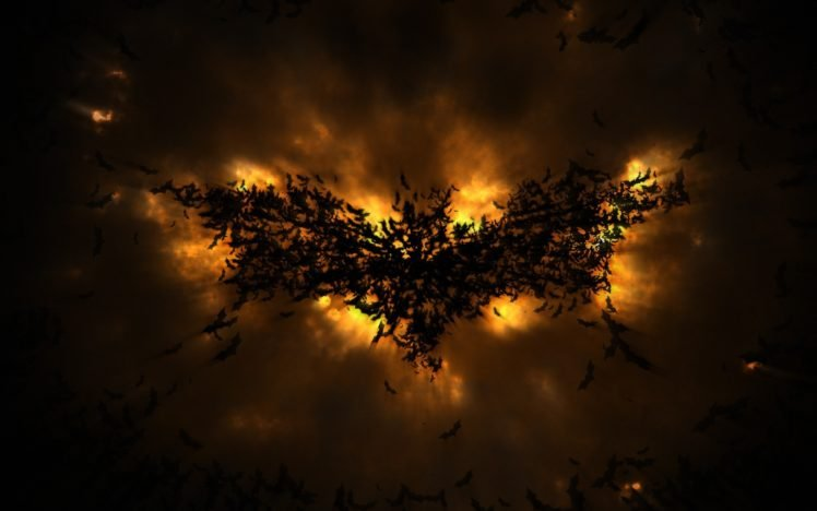 Batman, Batman logo, Batman Begins HD Wallpaper Desktop Background