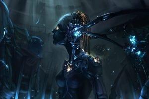 machine, Futuristic, Robot