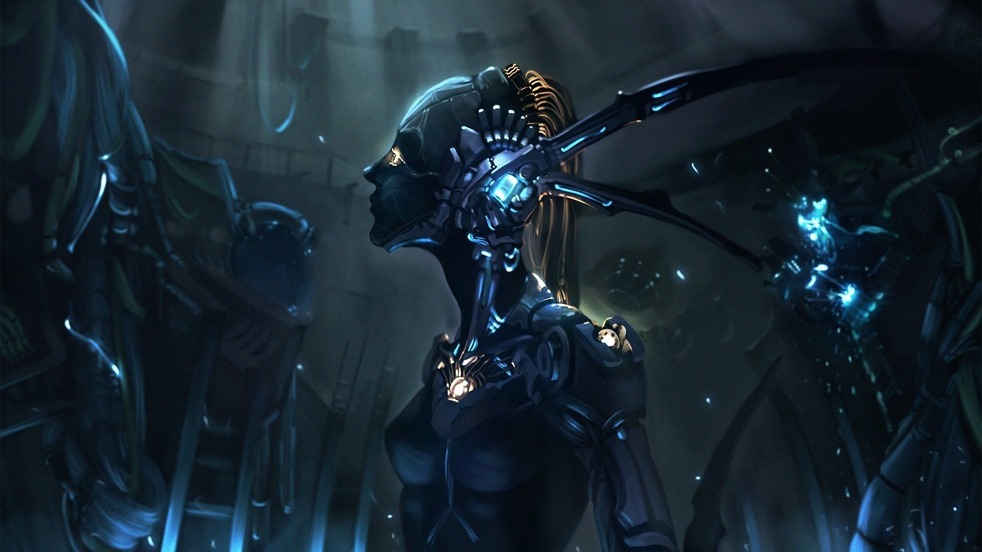 Best Motorcycle Armor >> machine, Futuristic, Robot HD Wallpapers / Desktop and ...