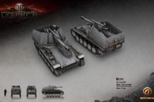 World of Tanks, Tank, Wargaming, Wespe