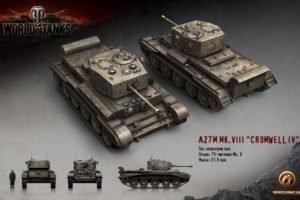 World of Tanks, Tank, Wargaming, Cromwell