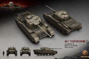 World of Tanks, Tank, Wargaming, Centurion Mk. 1
