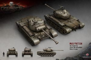 World of Tanks, Tank, Wargaming, M46 Patton