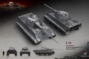 World of Tanks, Tank, Wargaming, E 50