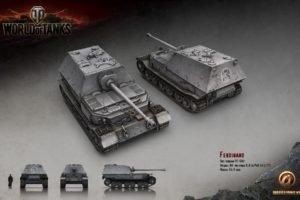 World of Tanks, Tank, Wargaming, Ferdinand